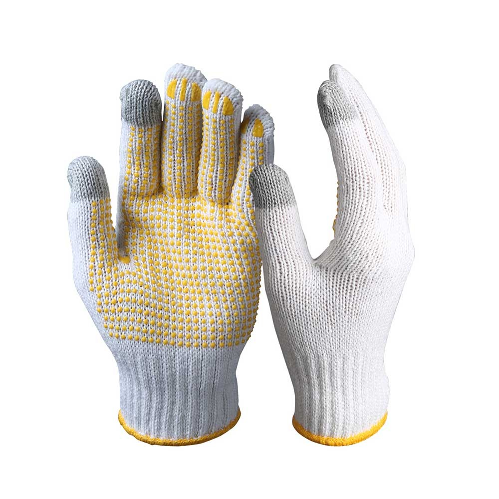 TSG-001 Touch Screen Safety Gloves/String Knit Gloves