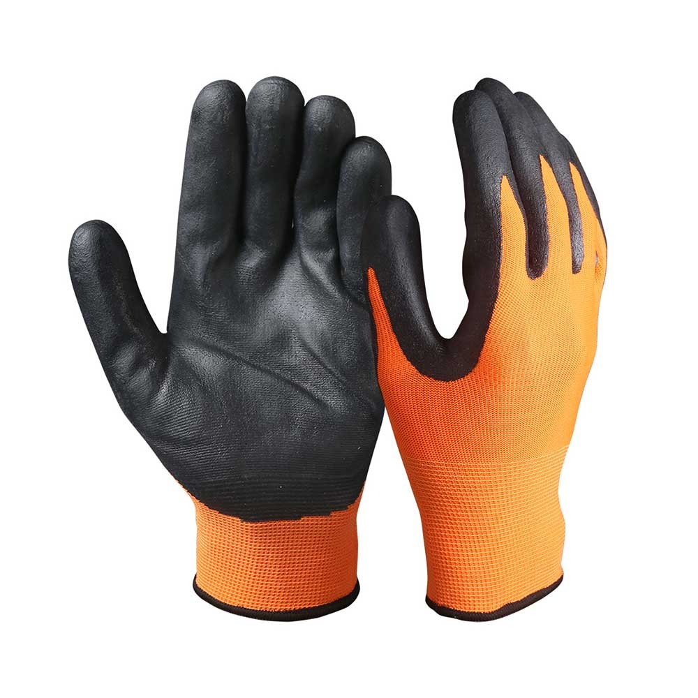 TSG-003 Touch Screen Safety Work Gloves/Nitrile Coated